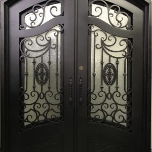French Iron Doors